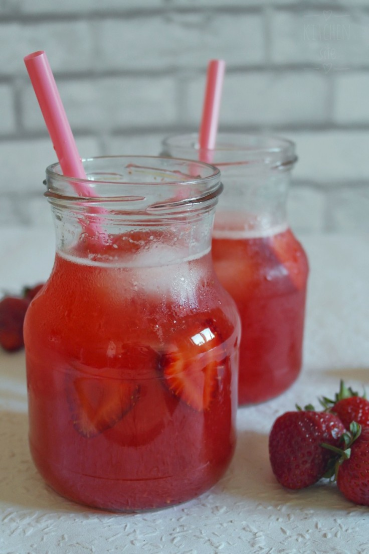 mrożona herbata truskawkowa 3